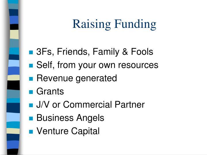 Raising Funding