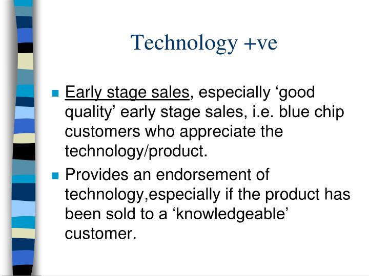 Technology +ve