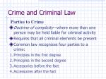 crime and criminal law16