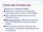 crime and criminal law17