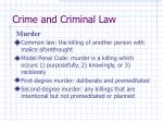 crime and criminal law30