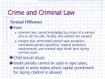 crime and criminal law36