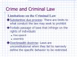 crime and criminal law5