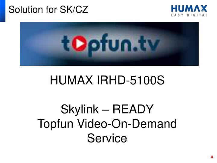 Solution for SK/CZ