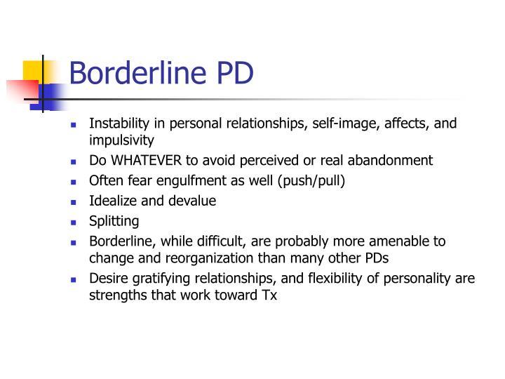 Borderline PD