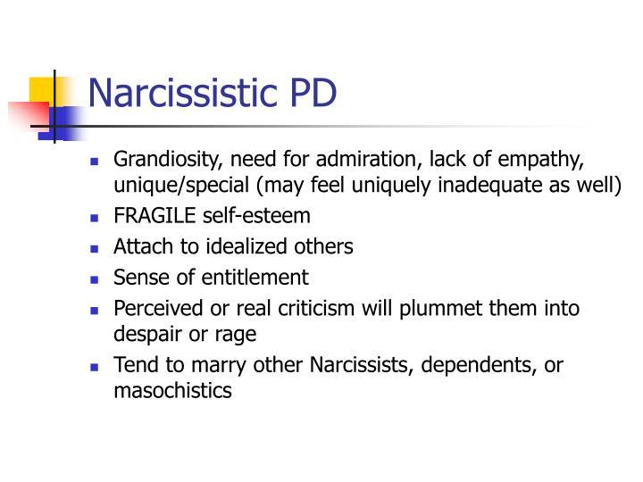 Narcissistic PD