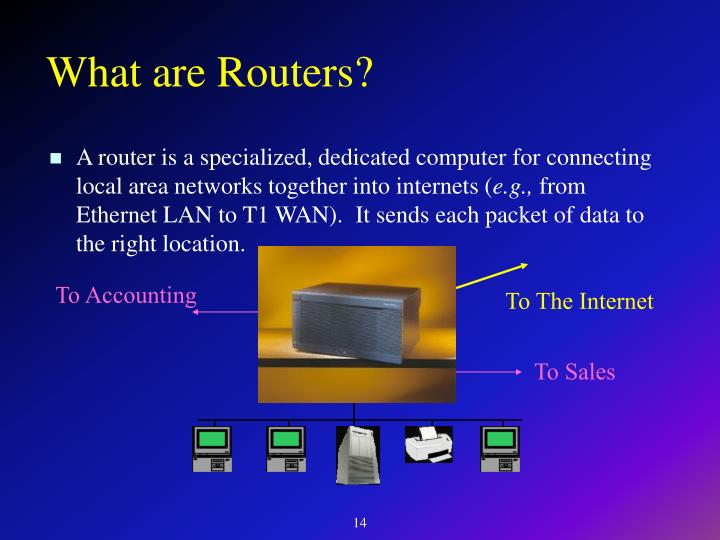 What are Routers?