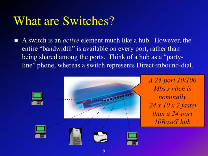 What are Switches?