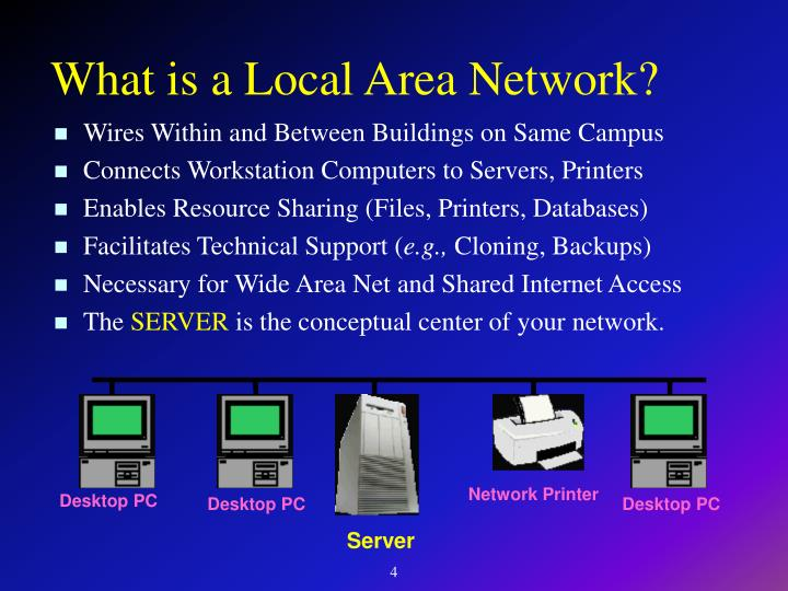 What is a Local Area Network?
