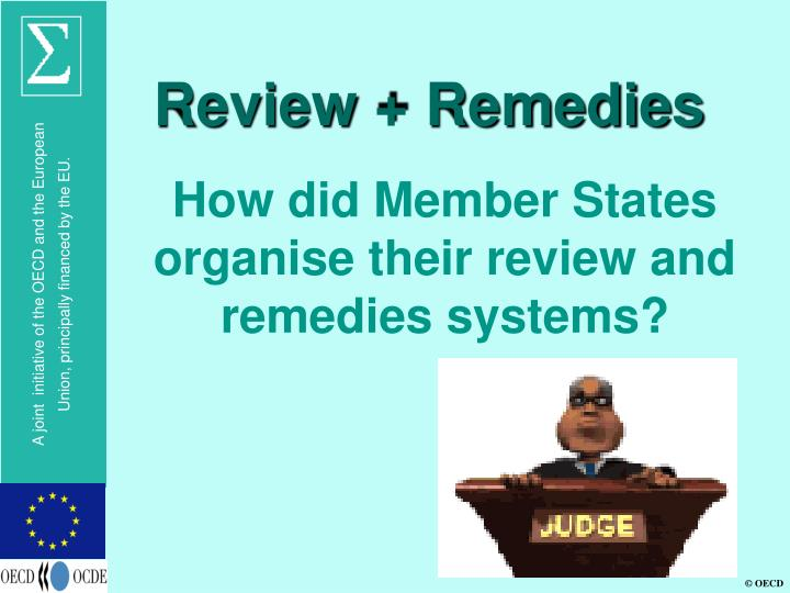 Review remedies