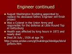 engineer continued