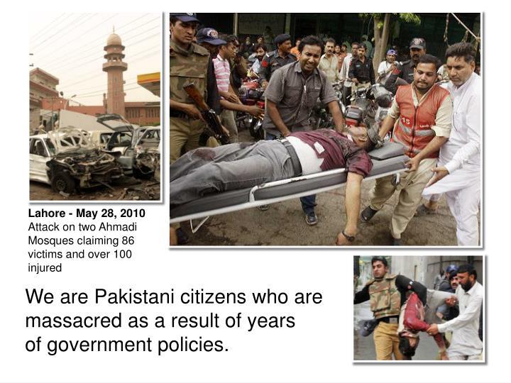 Lahore - May 28, 2010
