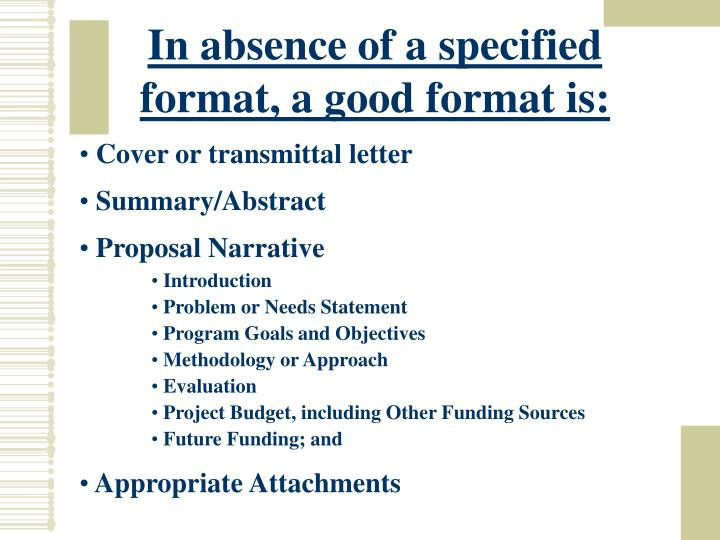 In absence of a specified format, a good format is: