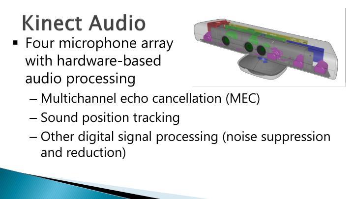 Kinect Audio