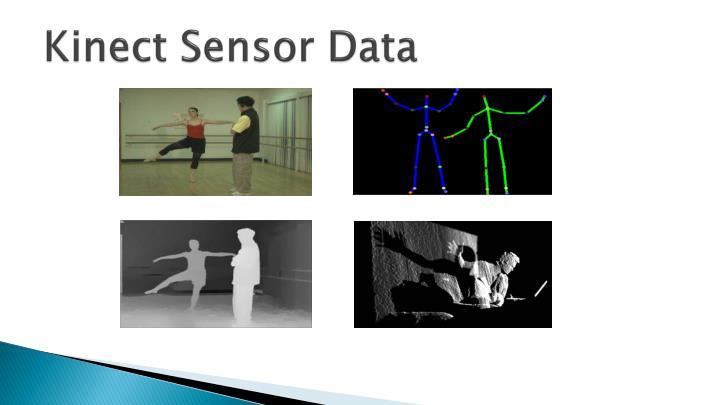 Kinect Sensor Data