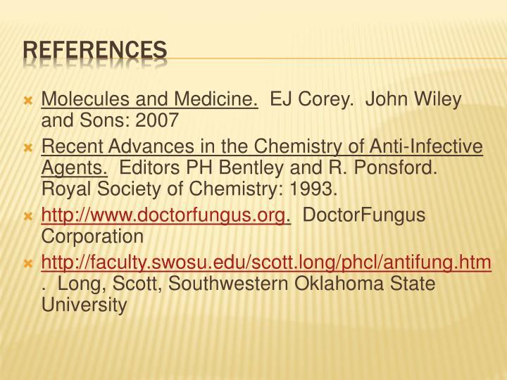 Molecules and Medicine.