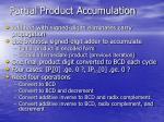 partial product accumulation