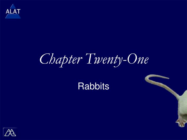 Chapter twenty one