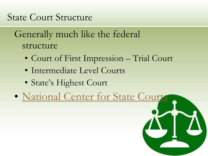 State Court Structure