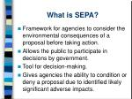 what is sepa
