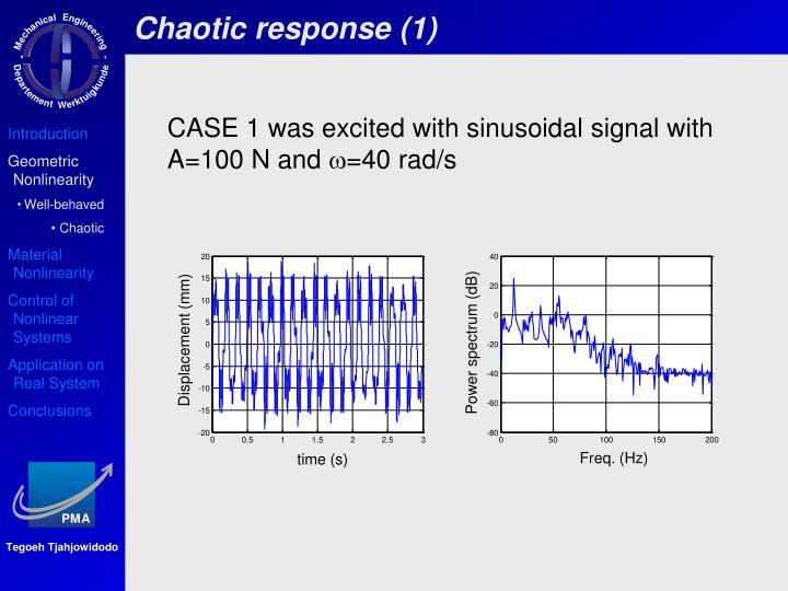 Chaotic response (1)