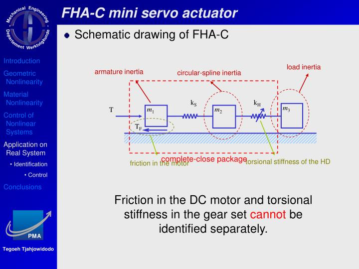 FHA-C mini servo actuator