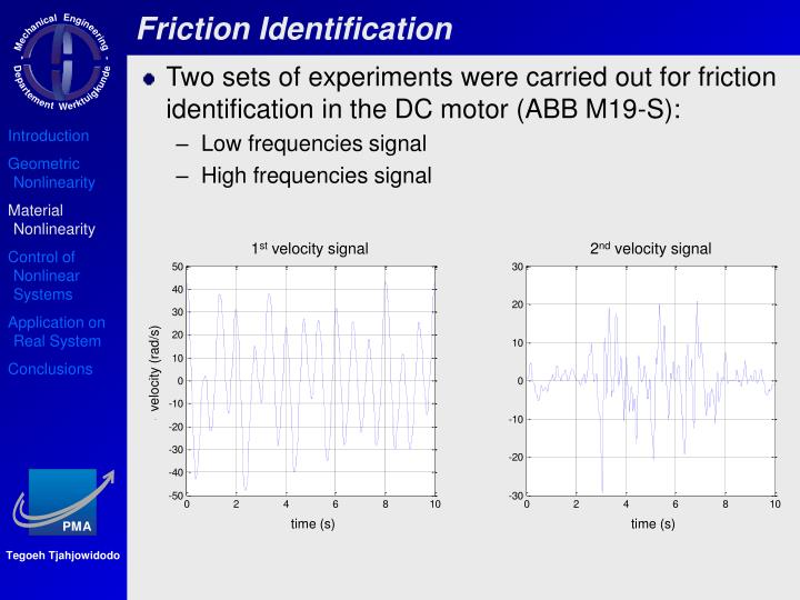 Friction Identification