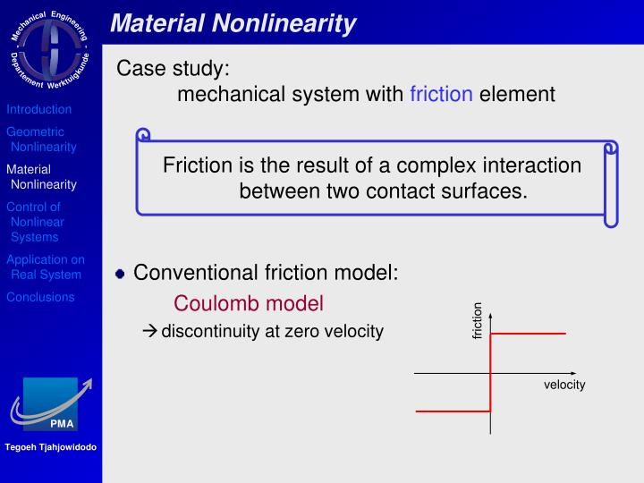 Material Nonlinearity