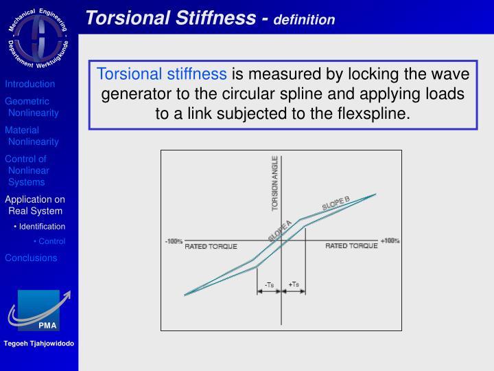 Torsional Stiffness -