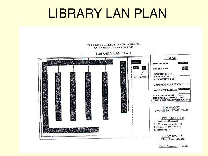 LIBRARY LAN PLAN