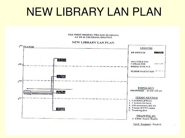NEW LIBRARY LAN PLAN