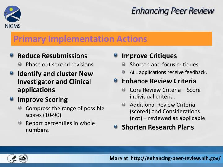 Enhancing Peer Review