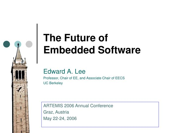 The future of embedded software