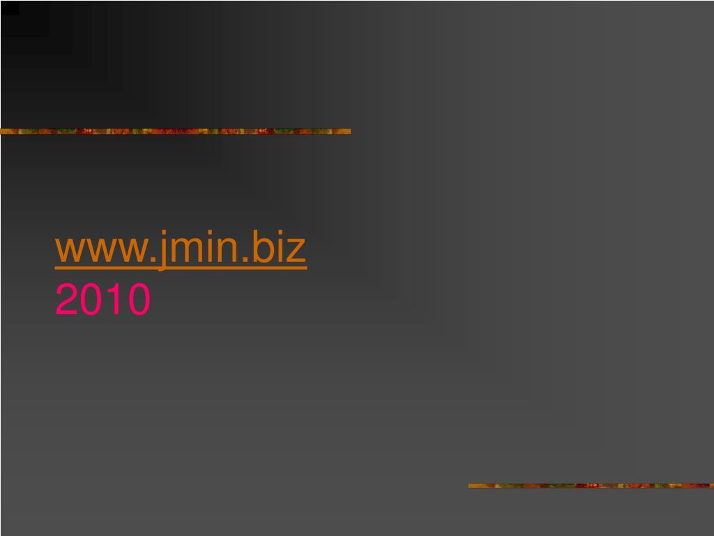 www.jmin.biz
