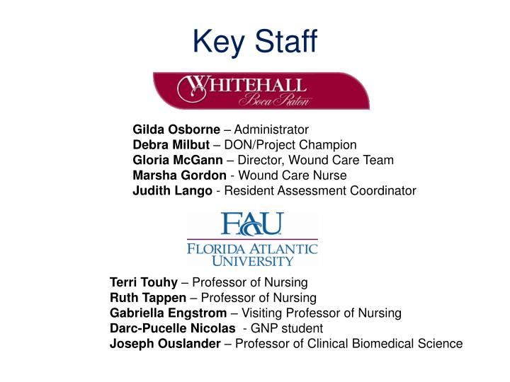 Key Staff