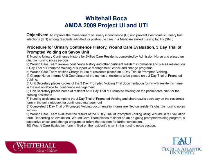 Whitehall Boca