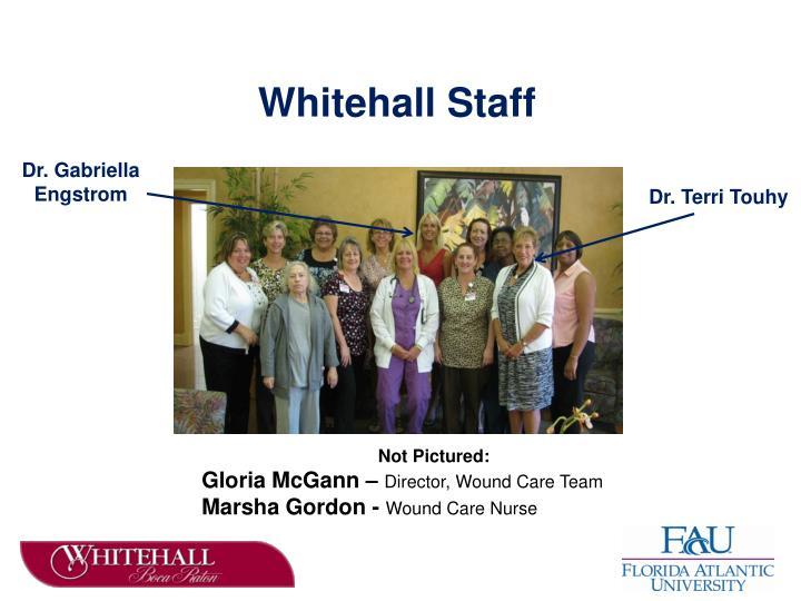 Whitehall Staff