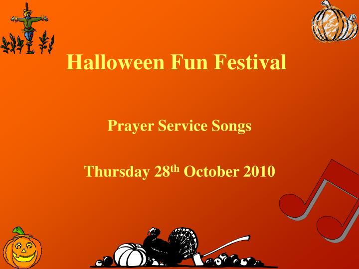 Halloween Fun Festival