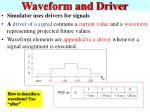waveform and driver