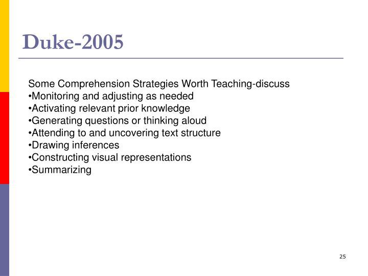 Duke-2005