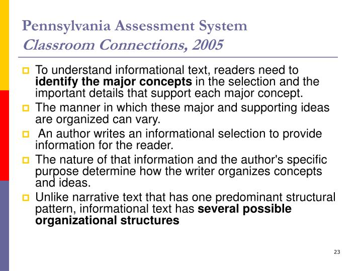 Pennsylvania Assessment System