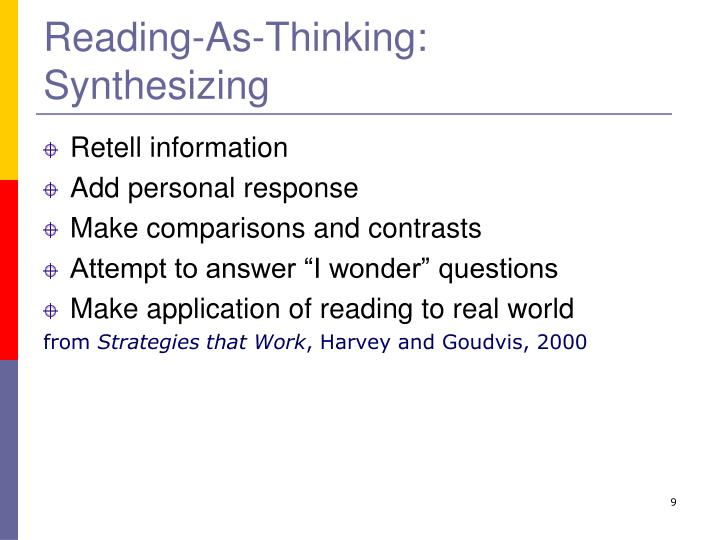 Reading-As-Thinking: