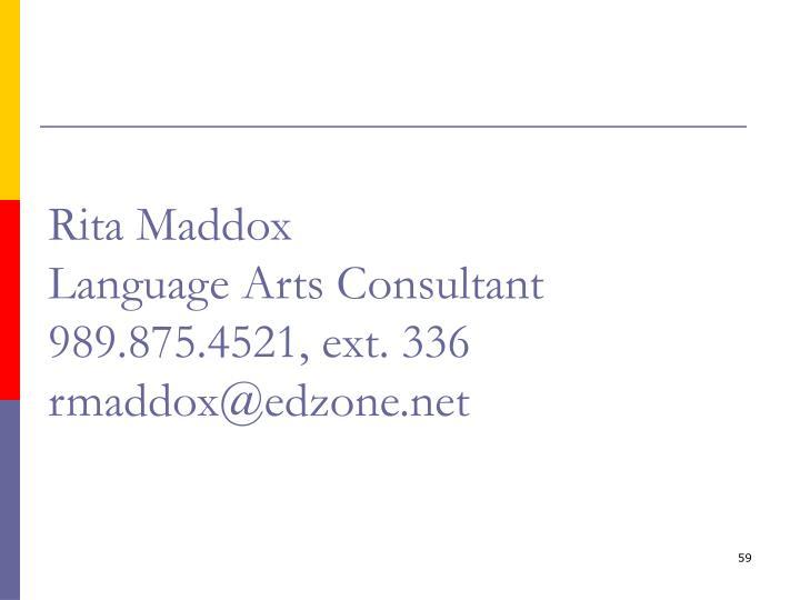Rita Maddox