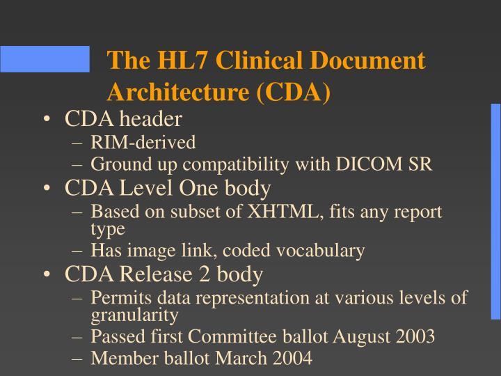 CDA header