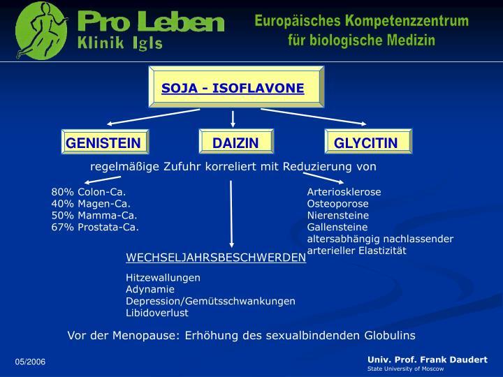 SOJA - ISOFLAVONE