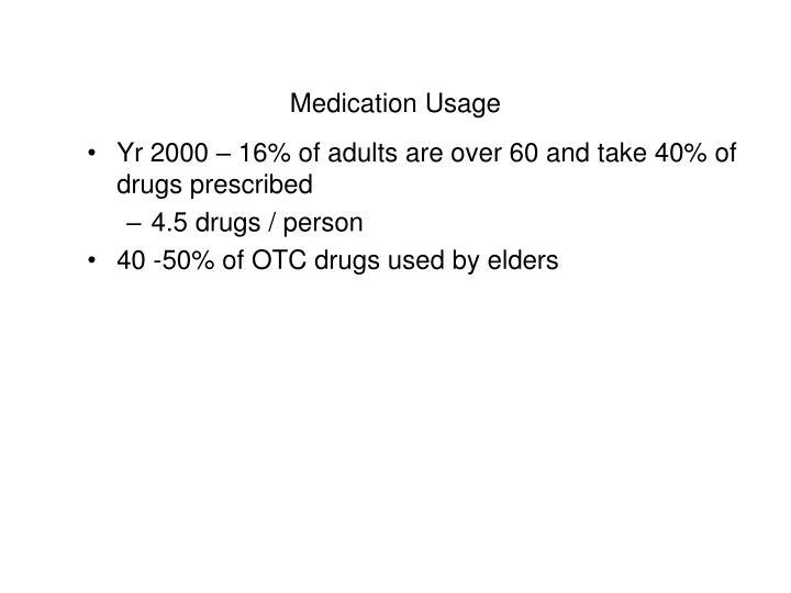 Medication Usage