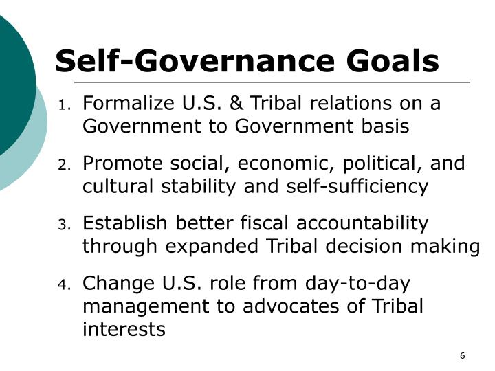 policy issues tribal governance