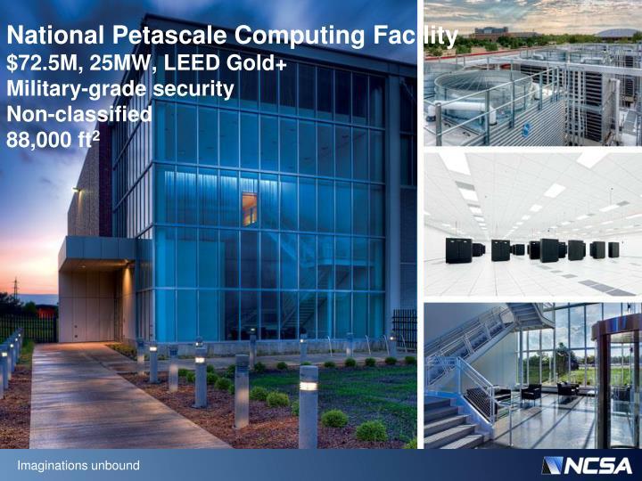 National Petascale Computing Facility