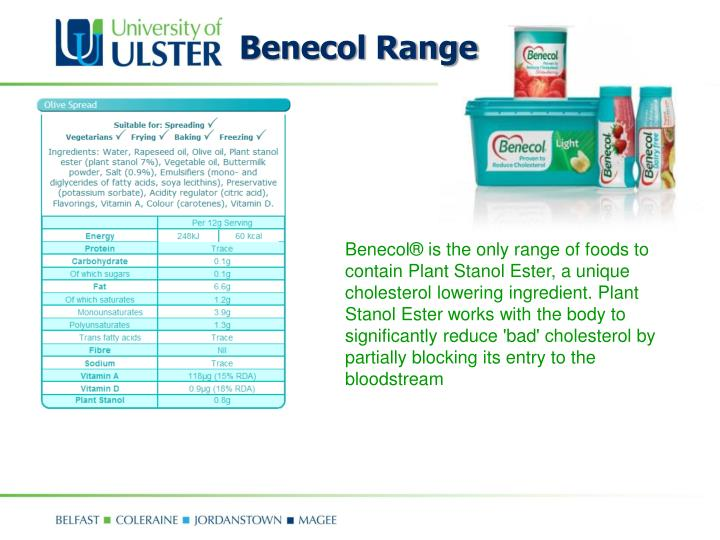 Benecol Range