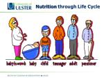 nutrition through life cycle
